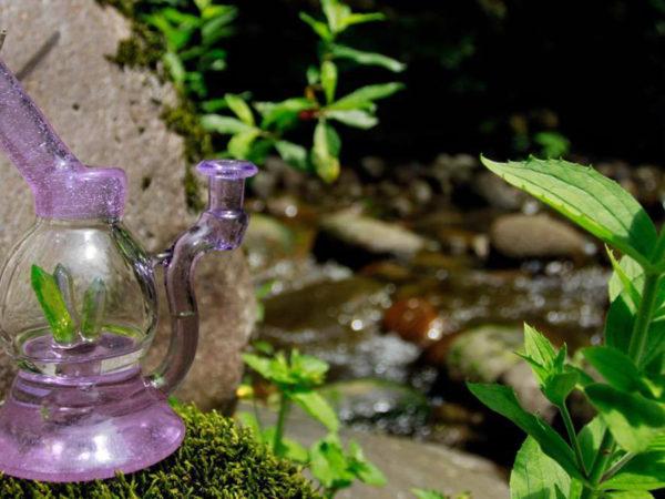 Lilac Crystal Orbuculum